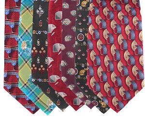 Dolce-amp-Gabbana-Krawatte-Schlips-Binder-3-kaufen-4-erhalten