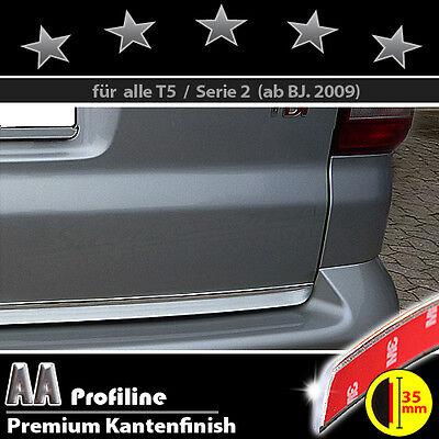 VW T5 Serie 2  09-15 Chrom Zierleiste 3M Tuning Heckleiste  BREIT