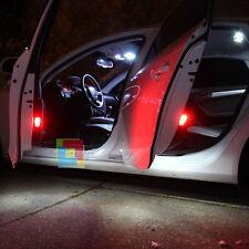 FIAT EVO GRANDE PUNTO 5X LAMPADINE LED LUCI INTERNO TARGA BIANCO GHIACCIO CANBUS