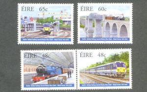 Livraison Rapide Irlande-trains Chemins De Fer Set Neuf Sans Charnière-afficher Le Titre D'origine