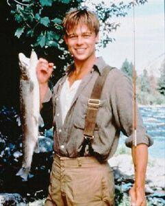 BRAD-PITT-AS-PAUL-MACLEAN-FROM-A-RIVER-RUNS-8x10-photo-fine-photo-229149
