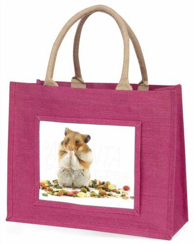 HAM-1BLP Lunch Box Hamster Large Pink Shopping Bag Christmas Present Idea