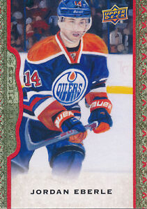 2014-15-Masterpieces-Red-Framed-Cloth-113-Jordan-Eberle-Base-Parallel