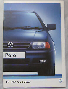 1997-VW-Polo-saloon-Brochure-Pub-No-620-1190-27-25
