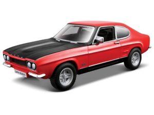 FORD-CAPRI-1-32-scale-diecast-car-model-die-cast-cars-models-metal-red