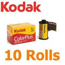 10 Rolls x KODAK Color Plus 36exp 200 ASA ISO ColorPlus 35mm 135 Film FRESH
