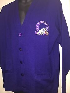 Omega Psi Phi Cardigan Sweater Medium Ebay
