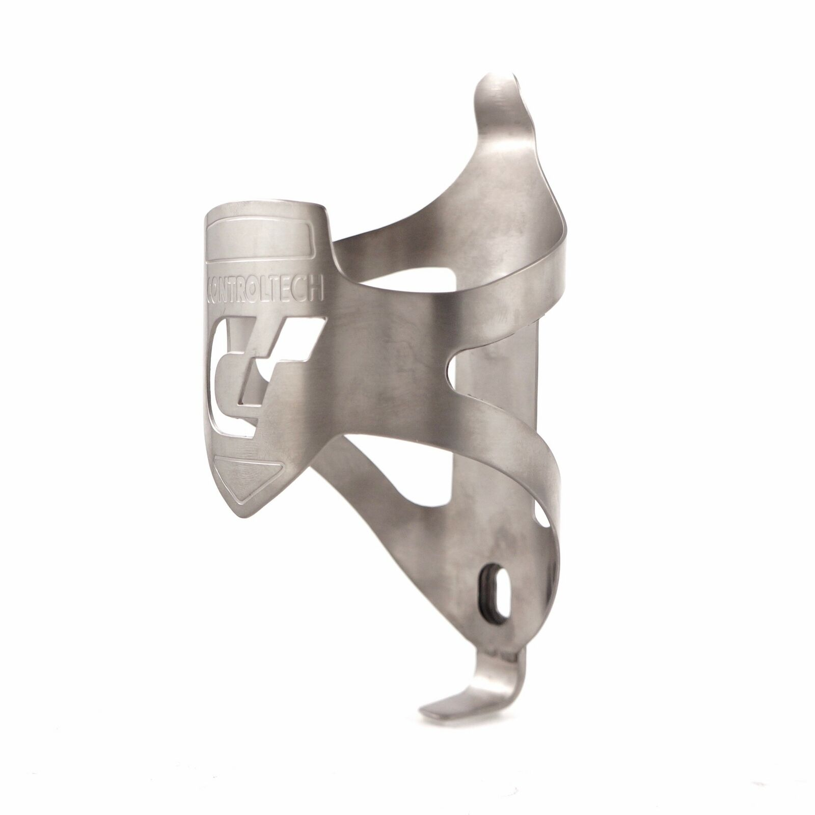 Controltech  BC-30 Timania Titanium stamped  Bottle Cage 47g  lightning delivery