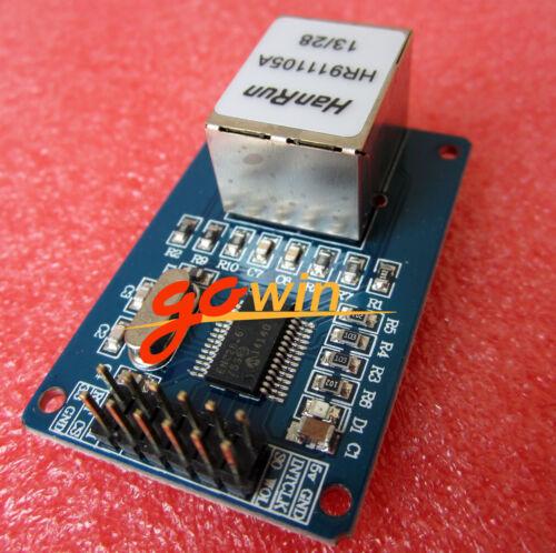 10PCS New ENC28J60 Ethernet LAN Network Module For Arduino SPI AVR PIC LPC STM32