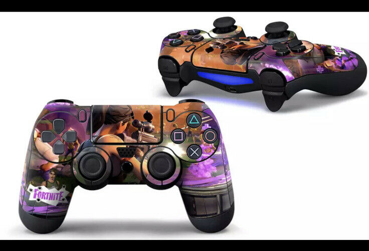 Vinyl Decal Skin Stickers Fortnite Game For PS4 Controller Brand New