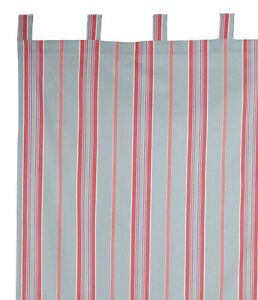 Rideau à pattes rayé 150x270cm -Belle saison- Comptoir de famille | eBay