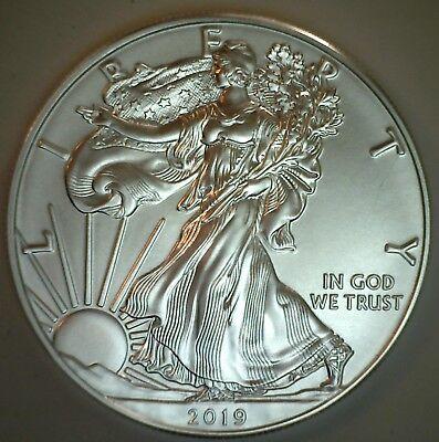 2019 $1 American Silver Eagles BU