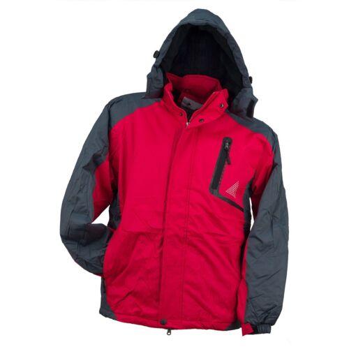 Y-263-RED Arbeitsjacke Winterjacke Jacke Herren gefüttert Schutzjacke