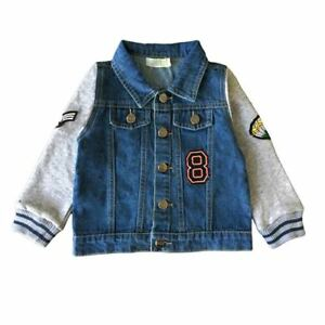Baby Boys Denim Jacket Sz 0,1,2    Located In Australia