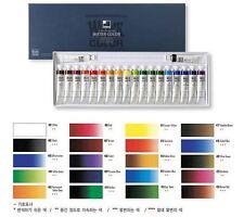 shinhan watercolors artist professional paint tubes set 20 colors