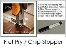 GuitarTechs FRET PRY Chip Stopper Lifter Spatula Puller Guitar Tool Luthier