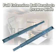 """22"""" Full Extension Mount Drawer Slide Ball Bearing Side"""