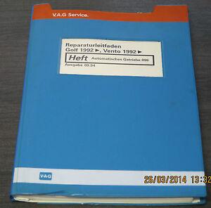 Werkstatthandbuch-VW-Golf-III-Typ-1H-Vento-Automatisches-Getriebe-096-Stand-1994