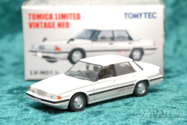 [TOMICA LIMITED VINTAGE NEO LV-N01b 1/64] MAZDA LUCE LIMITED ROTARY TURBO (White