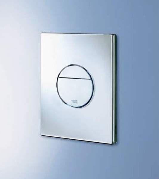 Grohe Nova Cosmopolitan WC DOBLE DESCARGA Botón Cromado Placa de parojo 38765 000