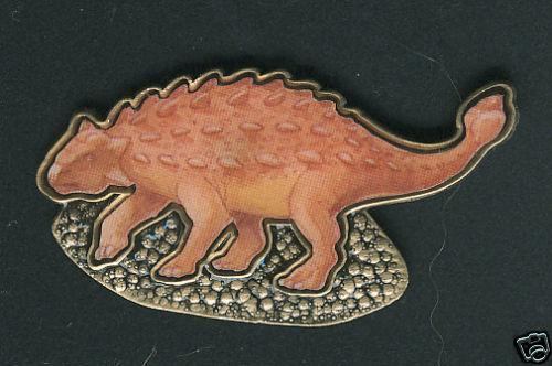 Ankylosaurus Magniventris Dinosaur Lapel Pin