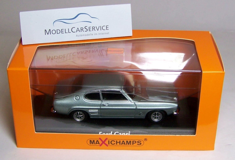 Minichamps 1  43  940085501 Ford Capri I (1969), ljus blå Met.-Maxichamps.
