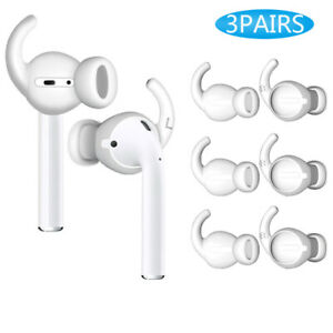 Anti Slip Headphones Replacement Earbuds Soft Silicone Cover Case Earphone Tips Earplugs for AirPods Pro//AirPods 3 2 Pairs Ear Tips Compatible with AirPods Pro Eartips M//S