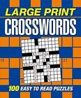 Large Print Crosswords by Arcturus Publishing (Paperback / softback, 2016)