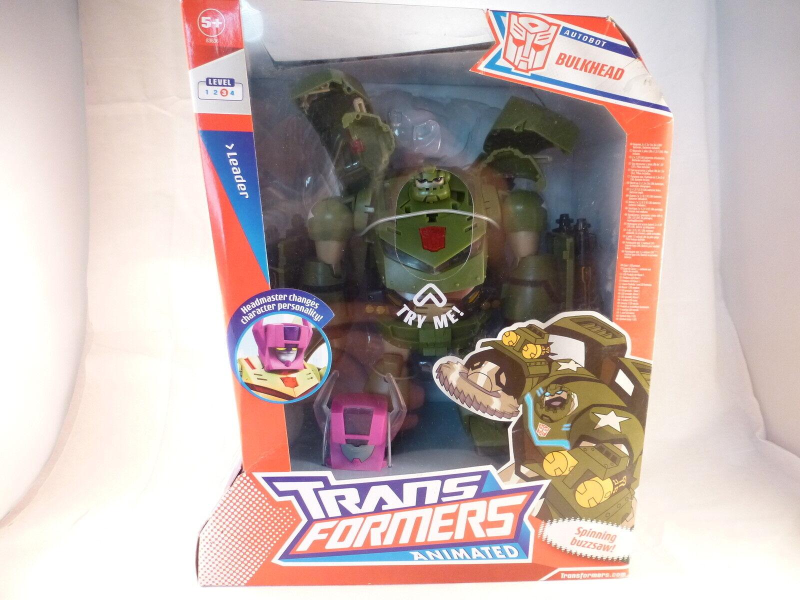 Transformers Animated. Bulkhead leader Misb