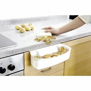 Utensilio-de-Cocina-Recipiente-Para-Recoger-las-Basuras-de-Encimera-Con-Rascador