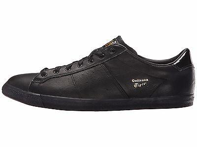 Asics Onitsuka Tiger Lawnship Men's Classic Tennis Shoes D518L-9090 Black NWT