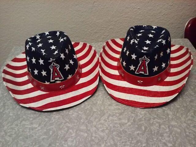 Lot of 2 LA Angels Snapback Mesh Hats 8 29 17 SGA Sponsored By Waba ... b80bfc39759f