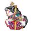 Old-World-Christmas-CAROUSEL-HORSE-44112-X-Glass-Ornament-w-OWC-Box thumbnail 1