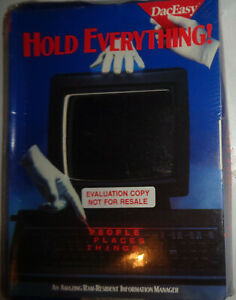 DacEasy-Hold-Everything-1988-NEW-SEALED-For-IBM-with-5-1-4-034-disks
