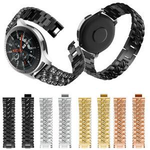 22mm Ersatz Metall Crystal Band Armband Für Samsung Galaxy Uhr 46mm