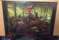 18 X 24 Bayonets Gettysburg Chamberlain's Charge 500 Piece Puzzle