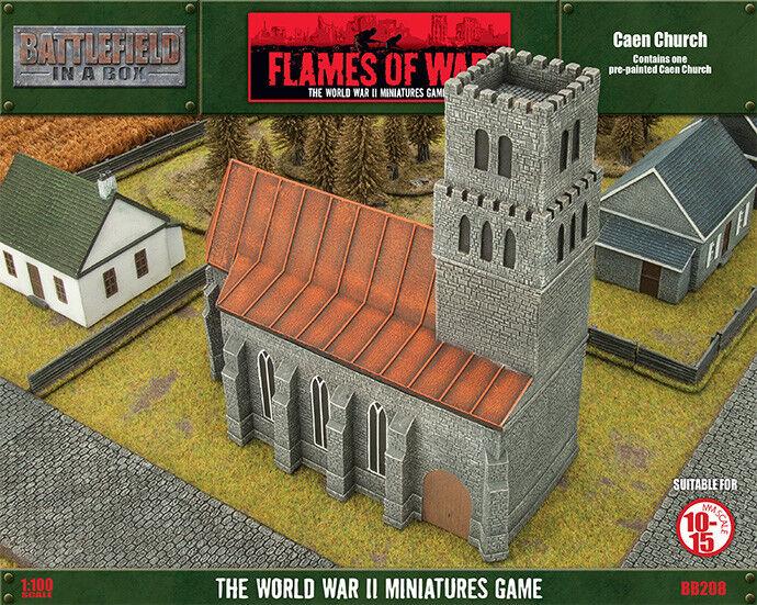 Flames of War BNIB Caen Church BB208