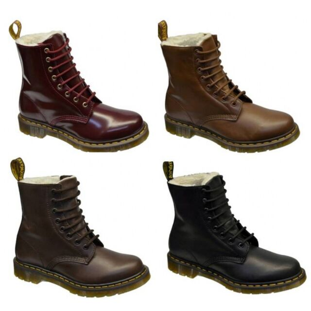 Dr Martens Serena Shearling Lining Womens Boots All Sizes in Various Colours