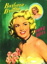 VINTAGE UNCUT 1954 ELAINE STEWART PAPER DOLLS~#1 REPRODUCTION~BEAUTIFUL//RARE SET