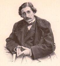 Portrait Gabriel Tarde Sarlat la Canéda Criminologie Sociologie Psychologie