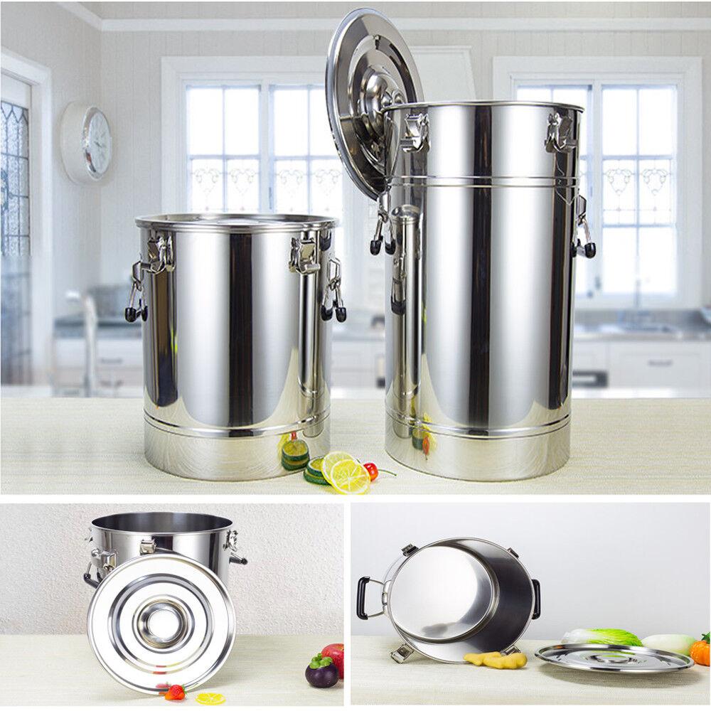 304 Stainless 25L-175L Fermenter Tank For Moonshine Still Distiller Storage Food