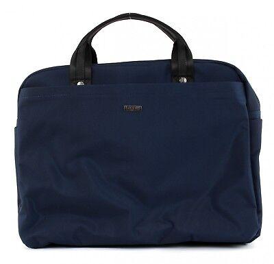 Audace Bugatti Contra Ritmo Business Bag Large Borsa A Tracolla Borsa Da Uomo Blu Nuovo- Acquista Sempre Bene