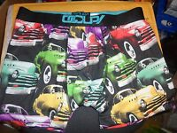 Occupy Men's Underwear Size Extra Large Multi Color With Cars
