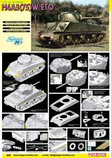 1/35 Dragon Sherman M4A3 75(W) ETO #6698