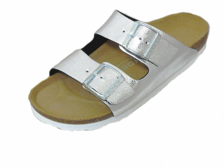 Rohde Alba 5616 Pantofole Donna Muli Sealo argentoo
