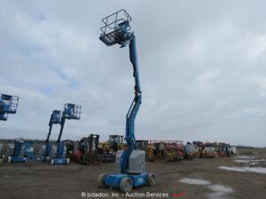 2011-Genie-Z34-22N-34-039-4-034-Electric-Articulating-Boom-Lift-Man-Aerial-bidadoo