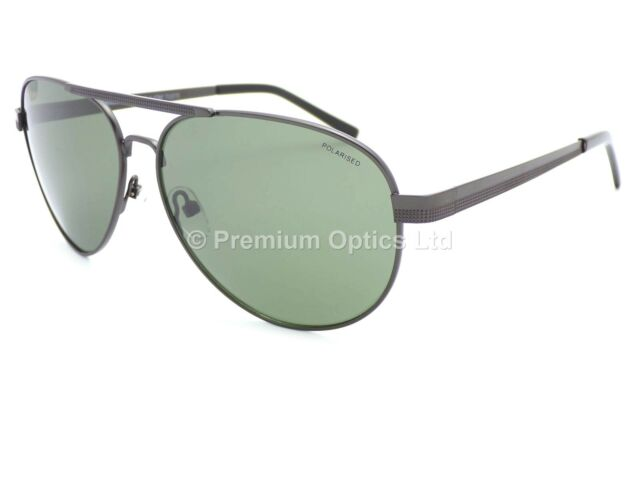 NORTH BEACH Polarised Sunglasses Rosefish Matte Black Grey Green 70530