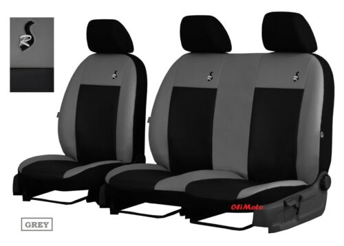 onwards Eco-Leather Tailored Seat Covers 2+1 For FORD TRANSIT CUSTOM 2013