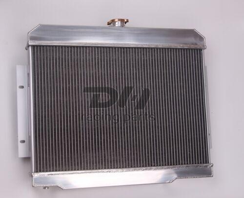 For 1972-1986 Jeep CJ,CJ5,CJ7 V8 3 Row Aluminum Radiator//Conversion Chevy-Engine