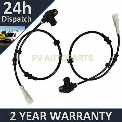 2X FOR VAUXHALL OPEL VECTRA B 1995-2003 ALL ENGINES ABS SENSOR FRONT LEFT RIGHT